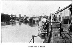 Echuca wharf c.1910 Murray River, Paddle Boat, Steamers, Historical Photos, Ancestry, Vr, Watercolour, Melbourne, Boats