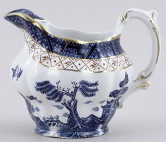 Booths Real Old Willow Jug c1950s