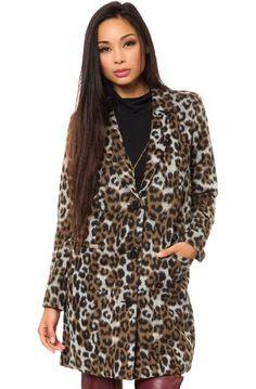 3bd7bdf94d BB Dakota Women s Hazel Leopard Coat  111.60 Leopard Coat