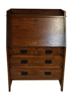 Forceful Antique Bookcase In Solid Oak Circa 1900 Antique Furniture Bookcases