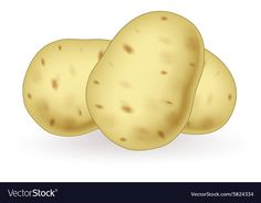 Cartoon potato vector image on VectorStock Vector Graphics, Vector Art, Cartoon Potato, Healthy And Unhealthy Food, Vegetable Pictures, Human Doll, Fruit Illustration, Book Images, Cartoon Images
