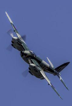 """eyestothe-skies: """"  De Havilland Mosquito """""""