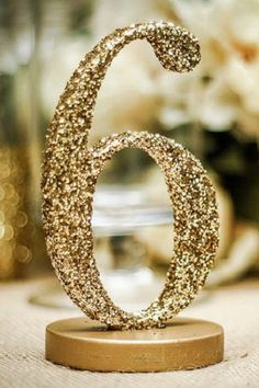 Wedding Magazine - Wedding moodboard: glittery finishing touches for your big day