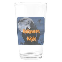 Halloween Night Drinking Glass