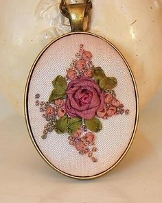 Humming Needle, ribbon embroidery