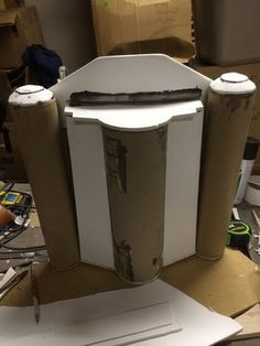 How to Build a Boba Fett Jetpack From Scratch: 10 Steps (with Pictures) Boba Fett Armor, Boba Fett Cosplay, Boba Fett Costume, Mandalorian Costume, Mandalorian Armor, Star Wars Boba Fett, Star Wars Clone Wars, Star Wars Art, Lego Star Wars