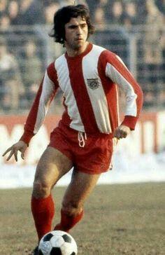 Gerd Muller of Bayern Munich in 1973.