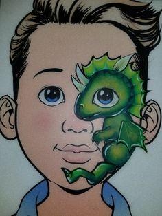Animal Face Paintings, Animal Faces, Dragon Face Painting, Body Painting, Face Charts, Face Painting Designs, Lizards, Paint Ideas, Dinosaurs
