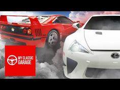 Behind the Wheel: Supercar Evolution - #Ferrari F40 vs #Lexus LFA