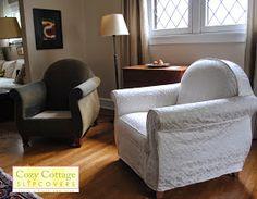 Cozy Cottage Slipcovers: Designer Slipcovers