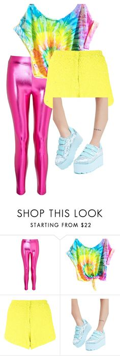 """""""80s"""" by duckling101 on Polyvore featuring Miss Selfridge, Manish Arora and Y.R.U."""
