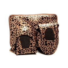 Foldable Flats Leopard, $22, now featured on Fab.