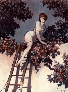 hoodoothatvoodoo:  Illustration by Armand Vallee For La Vie Parisienne 1920s