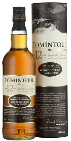 Tomintoul 12 jaar Olorose sherry caskfinish Ballindalloch Banffshire Speyside