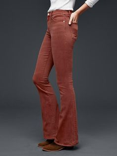 Gap resolution skinny flare jeans