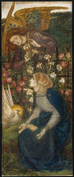 The Annunciation Rossetti, Dante Gabriel; draughtsman; British artist, 1828-1882 watercolour