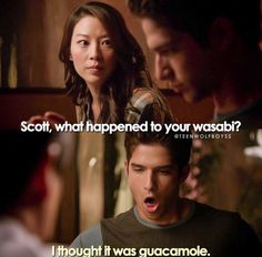 One of the best scenes with my baby hahaha that face Scott