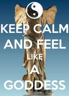 like a #goddess!
