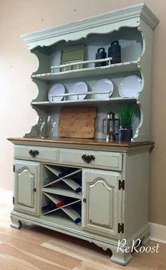 Furniture Redo Painting Rustic Dining Room Hutch Rooms Makeover Paint Ideas Chalk Projects Home