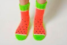 Autumn in DaWanda Handmade+knitted+socks+made+of+wool+bright+warm+ac+from+BrightStyle+by+DaWanda.com
