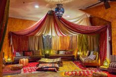 bedroom theme decor hotel is selling its in massive sale t fancy moroccan themed. - bedroom theme decor hotel is selling its in massive sale t fancy moroccan themed home morocco b - Moroccan Lounge, Moroccan Decor Living Room, Morrocan Decor, Moroccan Room, Moroccan Theme, Moroccan Interiors, Moroccan Style, Moroccan Lanterns, Fabric Ceiling