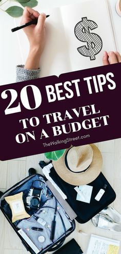 """Do you want to know the 20 Best tips to Travel on a Budget and Save Money? Read … More """"Do you want to know the 20 Best tips to Travel on a Budget and Save Money? Backpacking Europe, Bora Bora, Belfast, Charleston Sc, Cheap Travel, Budget Travel, Money Budget, Ways To Travel, Travel Tips"""