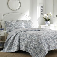 Found it at Joss & Main - Bettina Reversible Quilt Set by Laura Ashley
