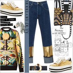 Model off Duty - Casual Chic by dani-elan on Polyvore featuring Givenchy, Loewe, Marc Jacobs and Roksanda