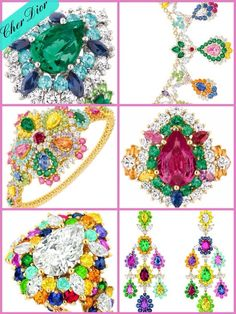 The new Cher Dior high jewelry collection electrifies Paris Couture Week in mega wattage color   Haute Tramp