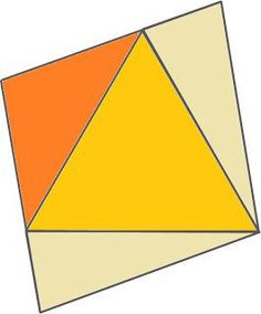 Resourceaholic: 5 Maths Gems #17 Find the angles in the rhombus, assuming there's one equilateral and three isosceles triangles.