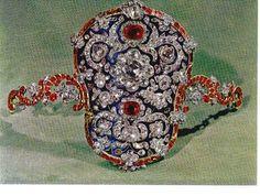 Royalty & their Jewelry:  Iran; armband