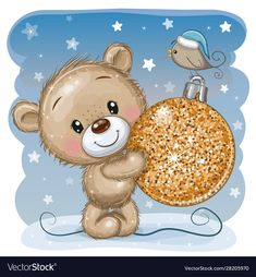 Find Cute Cartoon Teddy Bear Christmas Toy stock images in HD and millions of other royalty-free stock photos, illustrations and vectors in the Shutterstock collection. Thousands of new, high-quality pictures added every day. Cute Cartoon Animals, Bear Cartoon, Cartoon Pics, Teddy Bear Toys, Cute Teddy Bears, Christmas Teddy Bear, Christmas Toys, Urso Bear, Cartoon Mignon