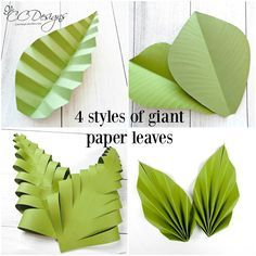 Large Paper Flowers and Giant Paper Rose Templates with Tutorials, DIY Paper Flower Wall Wedding Backdrop, Christmas Gift Giant paper leaves. Large Paper Flower Template, Large Paper Flowers, Paper Flower Wall, Diy Flowers, Giant Flowers, Hanging Paper Flowers, Paper Flowers How To Make, Potted Flowers, Butterfly Template