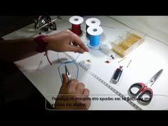Macrame Necklace tutorial - YouTube