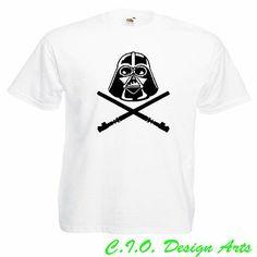 Star Wars Force Awakens Official Darth Vader Yoda Mens T-Shirt