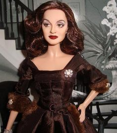 "Bette Davis as ""Margo Channing""in 'All About Eve', what a great doll!"