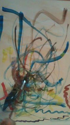 Pintura de la Laureta, aquarel•la sobre paper.