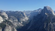 The view of Half Dome from Glacier Point Yosemite National Park CA [5312x2988] [OC]