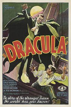 Uno de los raros pósters encontrados recientemente en USA: Dracula (1931)