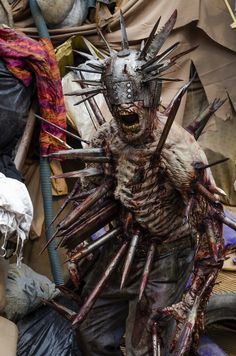 Gino Crognale as Walker - The Walking Dead _ Season 7, Episode 10 - Photo Credit: Gene Page/AMC