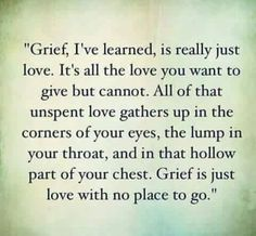 Quotes Death   Grief Isnu0027t Always Because Someone Died. Sometimes Itu0027s Over  A Loss Of Relationships.