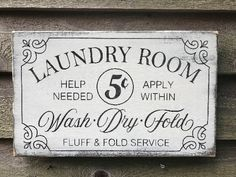 Laundry room sign, primitive laundry sign, farmhouse kitchen sign, farmhouse decor, rustic home decor, laundry decor , wood sign decor