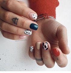 Simple Acrylic Nails, Fall Acrylic Nails, Simple Nails, Edgy Nails, Classy Nails, Stylish Nails, Ten Nails, Nagellack Trends, Minimalist Nails