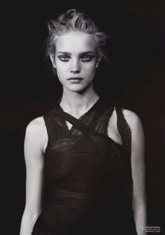 natalia vodianova by peter lindbergh for v magazine