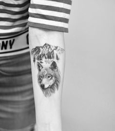 Wolf by Drag Ink