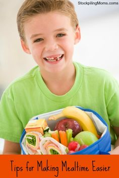 Tips for Making Mealtime Easier #kids