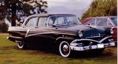 1956 Meteor Niagara 4 Dr Sedan Canadian Ford