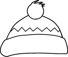 Winter Clothes Coloring Page clothing coloring pages Pinterest