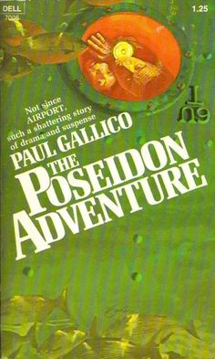 Paul Gallico | The Poseidon Adventure (1969) | Formerly the RMS Atlantis, the SS Poseidon is a luxury ocean liner from the golden age of travel, converted to a single-class, combination cargo-cruise liner. On December 26, the Poseidon is overturned when it has the misfortune of being directly above the location of an undersea earthquake. The ship capsizes as it falls into the sudden void caused by the quake displacing millions of gallons of seawater.