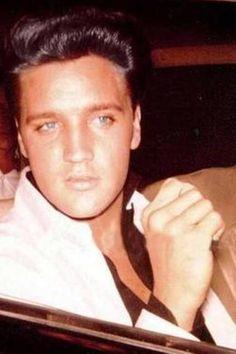 Fantastic Elvis Natural Hair Color Was Dishwater Blonde Elvis Only Had Short Hairstyles Gunalazisus